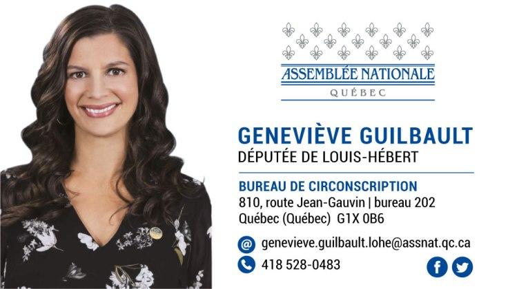 Carte d'affaires_Geneviève Guilbault